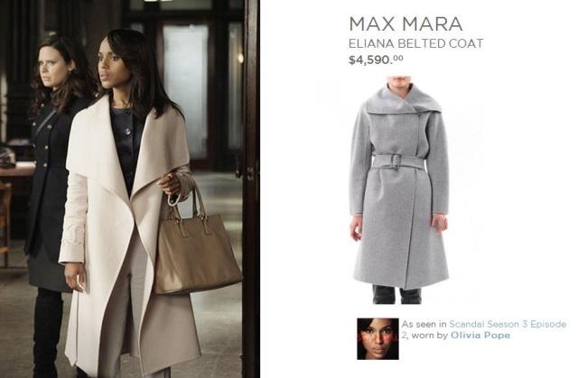 Max Mara Eliana Belted Coat