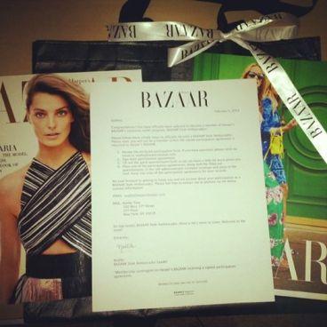 Harper's BAZAAR Style Ambassador