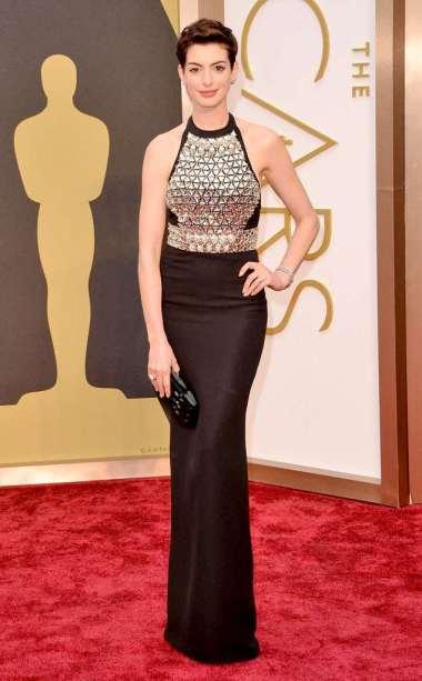 Anne Hathaway Oscars 2014