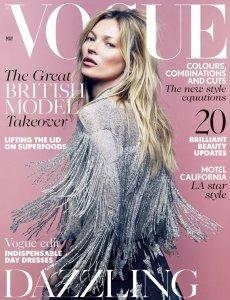 Kate Moss + Vogue